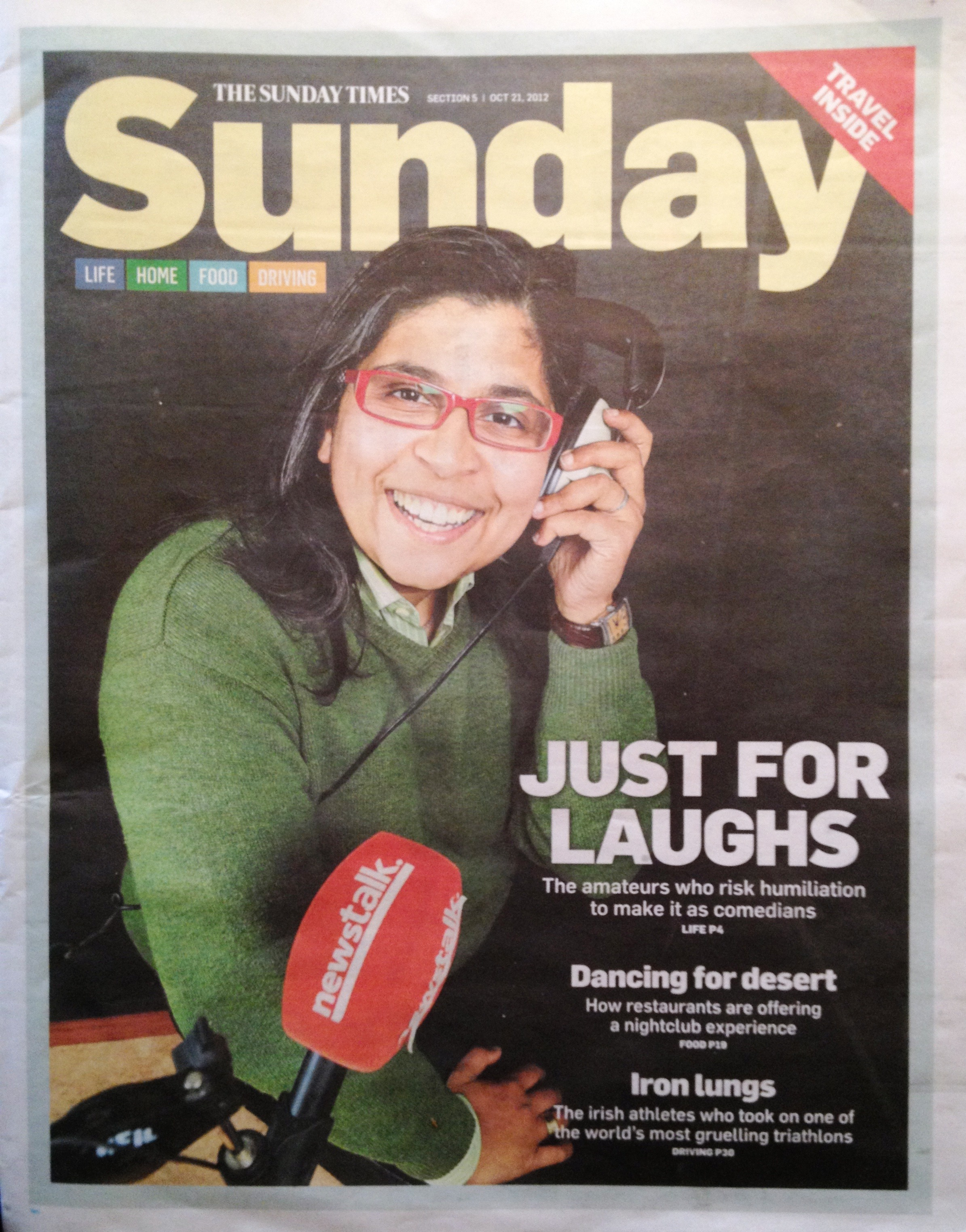 Sunday Times Cover 1